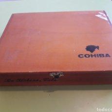 Cajas de Puros: CAJA DE PUROS COHIBA LA HABANA CUBA VACÍA. Lote 164616462