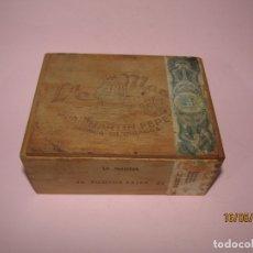 Boîtes de Cigares: ANTIGUA CAJA DE PUROS VACÍA DE 50 PILOTOS LA MARINA FABRICA DE TABACOS JUAN MARTÍN PÉREZ. Lote 164862754