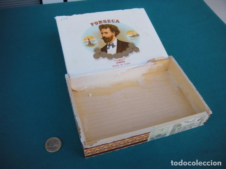 Cajas de Puros: CAJA DE PUROS HABANOS FONSECA - Foto 2 - 165135450