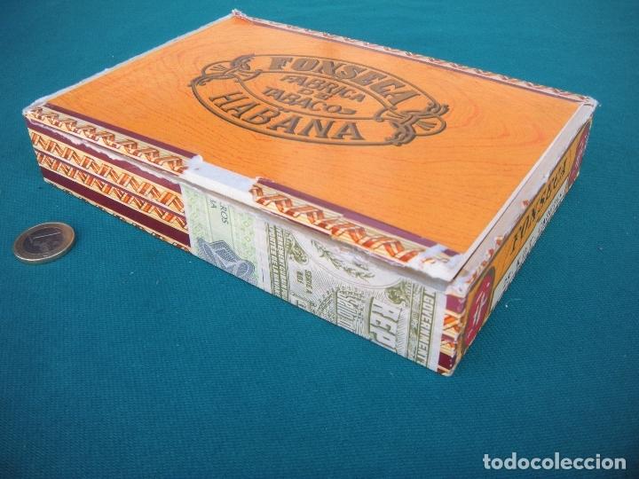 Cajas de Puros: CAJA DE PUROS HABANOS FONSECA - Foto 4 - 165135450