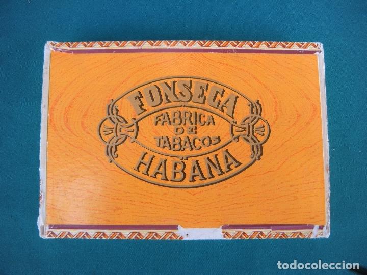 CAJA DE PUROS HABANOS FONSECA (Coleccionismo - Objetos para Fumar - Cajas de Puros)