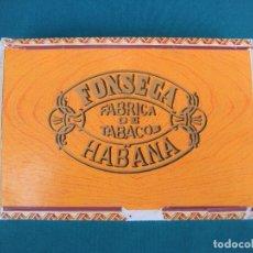 Cajas de Puros: CAJA DE PUROS HABANOS FONSECA. Lote 165135450