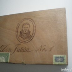 Cajas de Puros: CAJA PUROS DON JULIÁN N0. 1. Lote 165977426