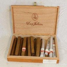 Cajas de Puros: CAJA DE PUROS DON JULIAN N1 - CON 18 PUROS. Lote 180989437