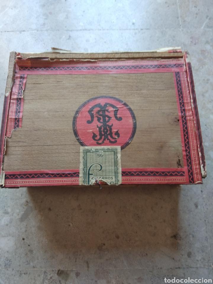 CAJA DE PUROS FARIAS (Coleccionismo - Objetos para Fumar - Cajas de Puros)