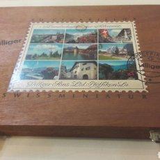 Cajas de Puros: CAJA 50 CIGARRILLOS VILLIGER VACIA. Lote 167004886