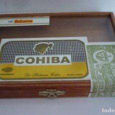 Cajas de Puros: CAJA PUROS COHIBA ROBUSTOS. Lote 167596128