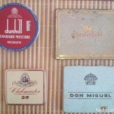 Boîtes de Cigares: LOTE CAJAS METÁLICAS CIGARRILLOS. Lote 168055552