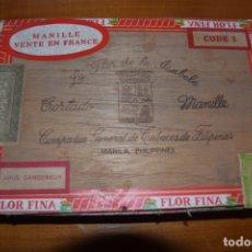 Cajas de Puros: CAJA VACÍA DE PUROS FILIPINAS . Lote 168396312