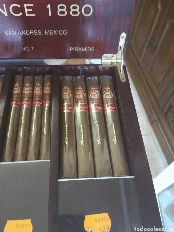Cajas de Puros: PUROS TE AMO CAJA -EXPOSITOR -HUMIDIFICADOR 137 PUROS VER FOTOS Y DESCRIPCION - Foto 5 - 169127492
