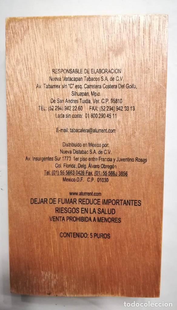 Cajas de Puros: Caja de 5 puros Andrea 's n. 1 de Te amo. México, nueva - Foto 3 - 169606216