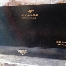 Cajas de Puros: CAJA VACÍA COHIBAS MADURO 5. Lote 169657480