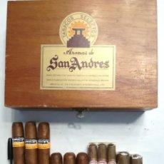 Cajas de Puros: LOTE DE PUROS COHIBA CUBA: 3 COHIBA ROBUSTOS + 3 COHIBA ESPLENDIDOS+3 TEAMO N.7+2TEAMO TORITO+CAJA. Lote 169804752