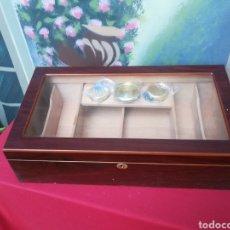 Cajas de Puros: HUMIDOR DE CEDRO PARA PUROS. Lote 169872556