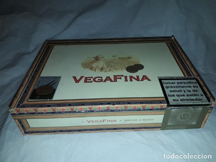 Cajas de Puros: Caja de puros Vega Fina República Dominicana - Foto 2 - 170010768