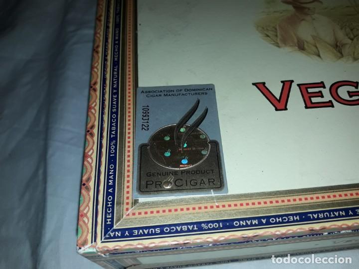 Cajas de Puros: Caja de puros Vega Fina República Dominicana - Foto 3 - 170010768