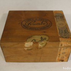 Cajas de Puros: CAJA DE PUROS RUMBO. Lote 170043952