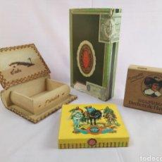 Cajas de Puros: LOTE DE CAJAS DE PUROS. Lote 170265414