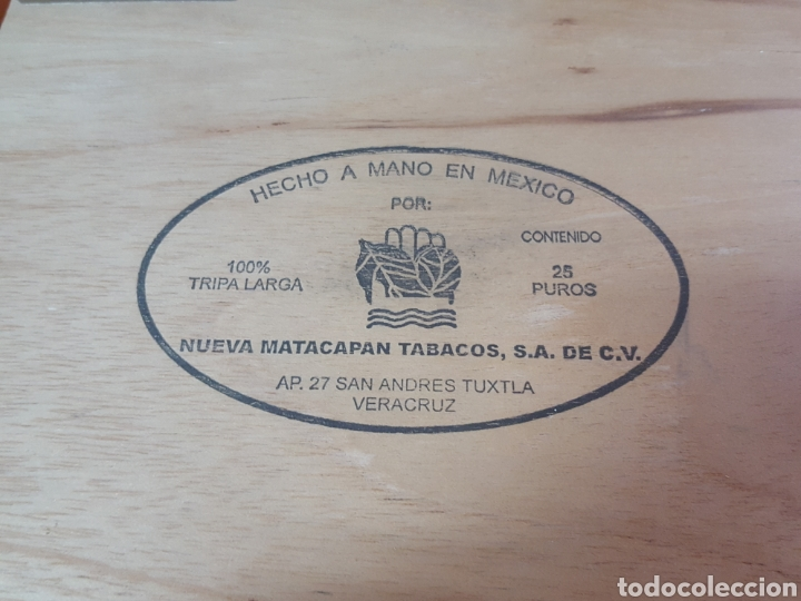 Cajas de Puros: CAJA DE PUROS VACIA TE-AMO CABALLERO VERACRUZ MEXICO - Foto 3 - 170473110