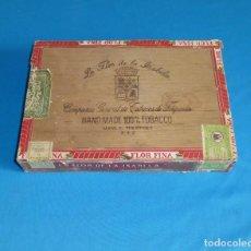 Cajas de Puros: CAJA DE PUROS LA FLOR DE LA ISABELA - FILIPINAS MANILA - CAJA VACIA.. Lote 170573508
