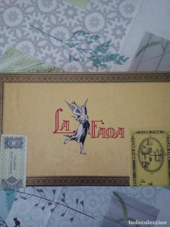 CAJA DE PUROS LA FAMA (Coleccionismo - Objetos para Fumar - Cajas de Puros)