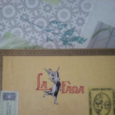 Cajas de Puros: CAJA DE PUROS LA FAMA. Lote 170921300