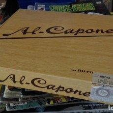 Cajas de Puros: CAJA VACIA PUROS AL-CAPONE. Lote 170933160