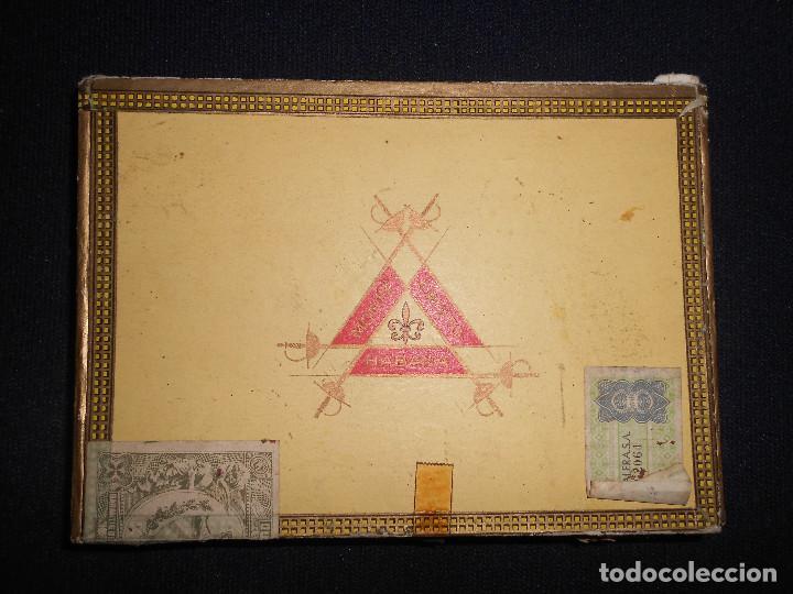 Cajas de Puros: caja de puros montecristo con puros 4 flor del cano 2 troya y otos habana cuba y brasil - Foto 2 - 171167729