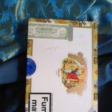 Cajas de Puros: CAJA DE MADERA VACIA DE PUROS HABANOS - REPUBLICA DE CUBA HABANA . ROMEO Y JULIETA. Lote 171201585