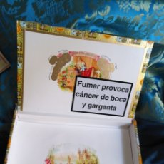 Cajas de Puros: CAJA DE MADERA VACIA DE PUROS HABANOS - REPUBLICA DE CUBA HABANA . ROMEO Y JULIETA. Lote 171201824