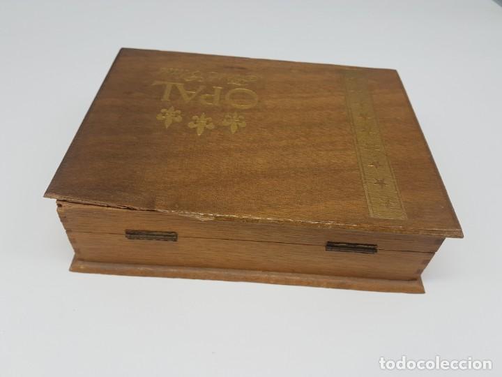 Cajas de Puros: CAJA MADERA PUROS ( OPAL FIRST CLASS CORONA ) 23 UNIDADES - Foto 4 - 171233798