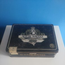 Cajas de Puros: ANTIGUA CAJA METALICA WILDE HAVANA.. Lote 171237110