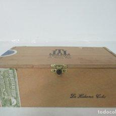 Cajas de Puros: CAJA DE PUROS VACÍA - MADERA, CIERRE DE LATÓN - TRINIDAD LA HABANA, CUBA - FUNDADORES. Lote 171308257