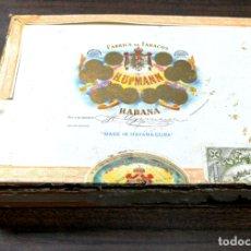 Cajas de Puros: CAJA DE PUROS LLENA. H, UPMAN. ANTIGUA. 25 ESPECIALES. HABANA. MEDIDAS : 22 X 16 X 4 CM APROX.. Lote 171310963