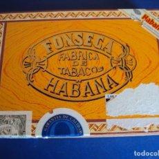Cajas de Puros: (TA-190701)CAJA DE PUROS FONSECA - 25 KDT CADETES - HABANA - CUBA - SIN ABRIR - PRECINTADA . Lote 171516493