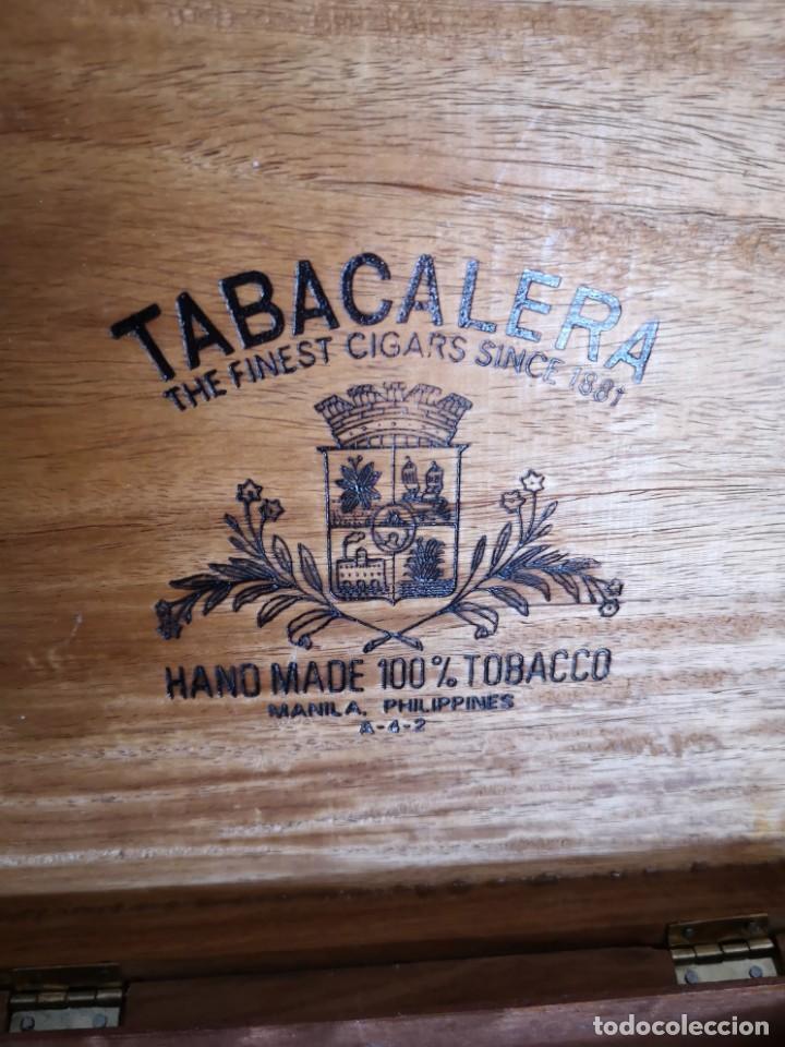 Cajas de Puros: Rara caja de puro de Manila Filipinas - Foto 2 - 171615245