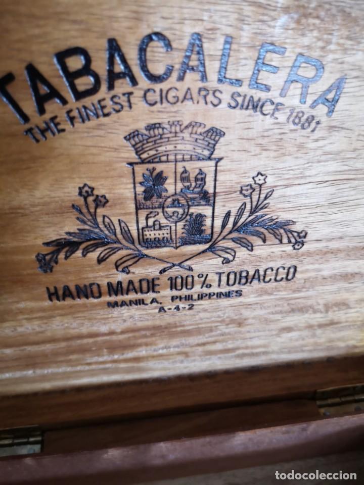 Cajas de Puros: Rara caja de puro de Manila Filipinas - Foto 4 - 171615245