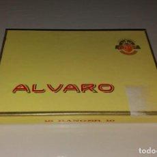 Cajas de Puros: TABACO. CAJA DE PUROS ALVARO, 10 RANGER 10. LLENA. Lote 171746678