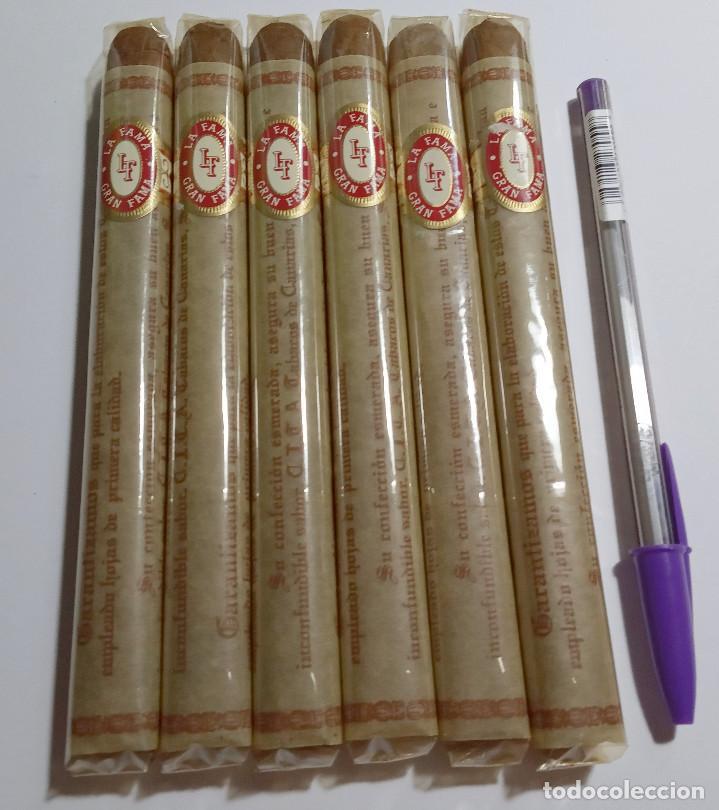 LA FAMA GRAN FAMA.LOTE DE PUROS. (Coleccionismo - Objetos para Fumar - Cajas de Puros)