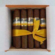 Cajas de Puros: CAJA DE 25 UNIDADES PUROS HABANOS COHIBA ROBUSTOS. Lote 171840048