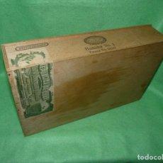 Cajas de Puros: RARA CAJA HOYO MONTERREY JOSÉ GENER ANTIGUO ESTUCHE PARA HUMIDOR Nº1 PUROS HABANOS CUBA MADERA. Lote 172024003