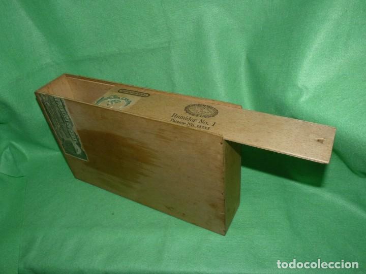 Cajas de Puros: Rara caja Hoyo Monterrey José gener antiguo estuche para humidor nº1 puros habanos Cuba madera - Foto 4 - 172024003