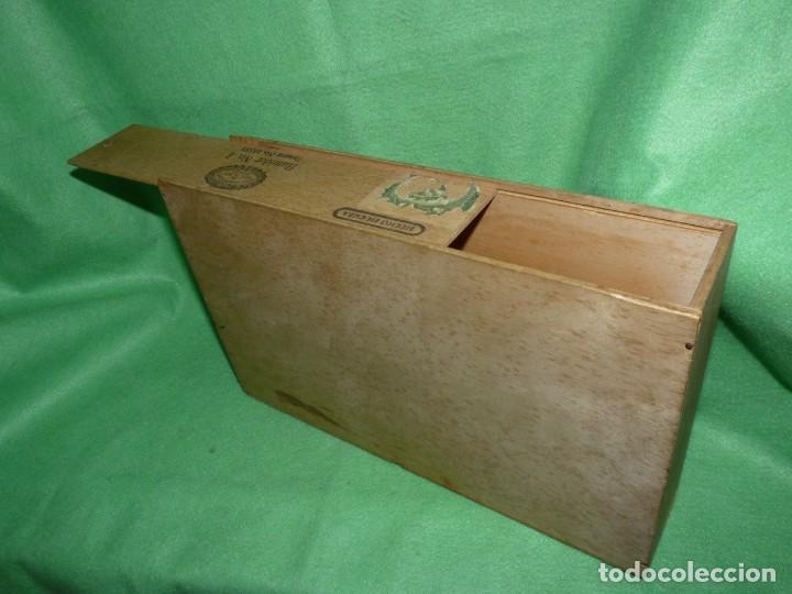 Cajas de Puros: Rara caja Hoyo Monterrey José gener antiguo estuche para humidor nº1 puros habanos Cuba madera - Foto 5 - 172024003