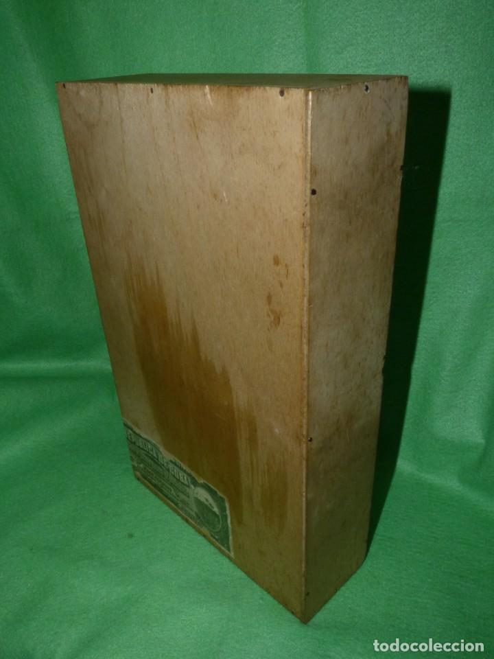 Cajas de Puros: Rara caja Hoyo Monterrey José gener antiguo estuche para humidor nº1 puros habanos Cuba madera - Foto 6 - 172024003