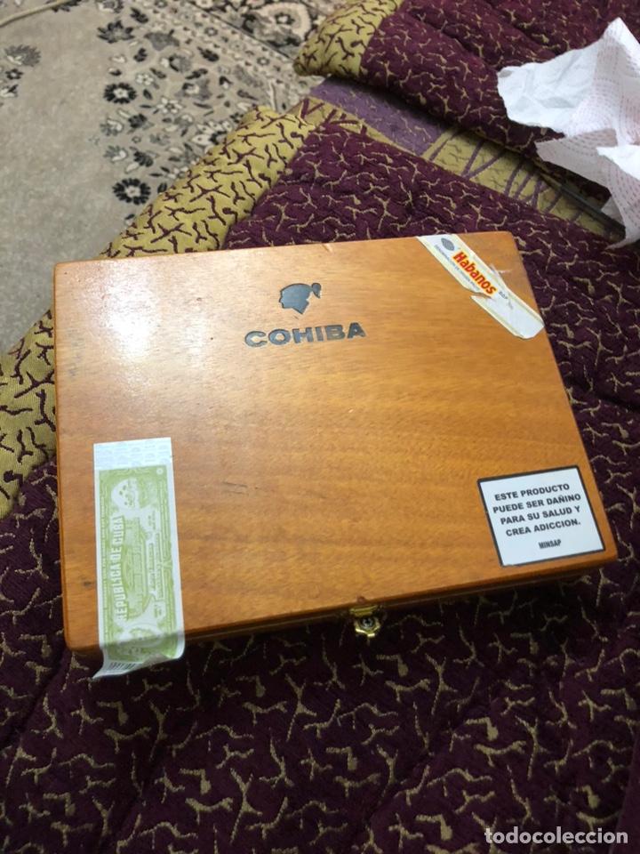 Cajas de Puros: 4 puros habanos cohiba en su caja original - Foto 3 - 172032940