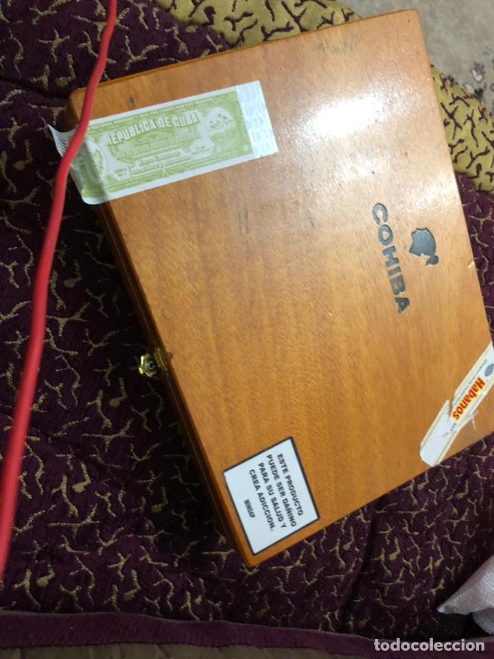 Cajas de Puros: 4 puros habanos cohiba en su caja original - Foto 4 - 172032940