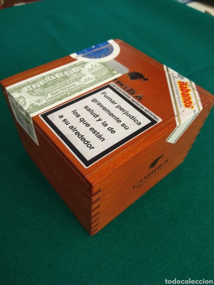 COHIBA SIGLO I, CAJA VACÍA DE PUROS HABANOS (Coleccionismo - Objetos para Fumar - Cajas de Puros)