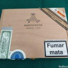 Cajas de Puros: CAJA VACÍA PUROS HABANOS MONTECRISTO GRAN EDMUNDO ED. LIMITADA 2010. Lote 172085529