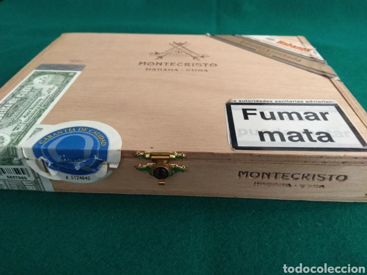 Cajas de Puros: Caja vacía puros habanos Montecristo Gran Edmundo Ed. limitada 2010 - Foto 2 - 172085529