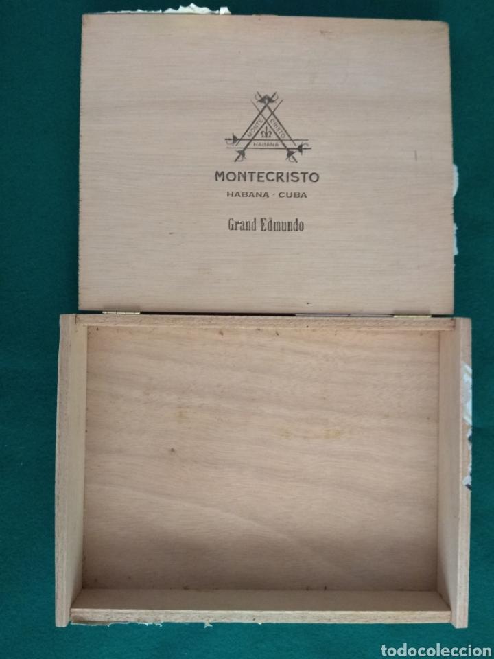 Cajas de Puros: Caja vacía puros habanos Montecristo Gran Edmundo Ed. limitada 2010 - Foto 3 - 172085529